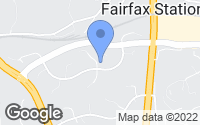 Map of Fairfax Station, VA