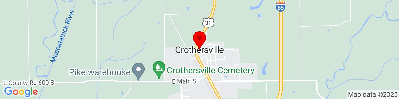 Google Map of 38.8006115, -85.8416384