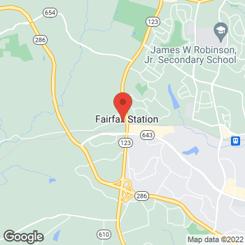 Map of Hair Cuttery at 5622d Ox Rd, Fairfax Station, VA 22039