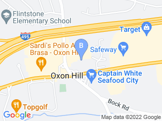 Map of Perfectpaws Doggie Spa Dog Boarding options in Oxon Hill | Boarding