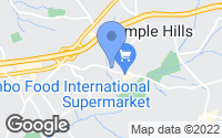 Map of Temple Hills, MD