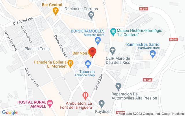 Administración nº1 de Font de La Figuera (LA)