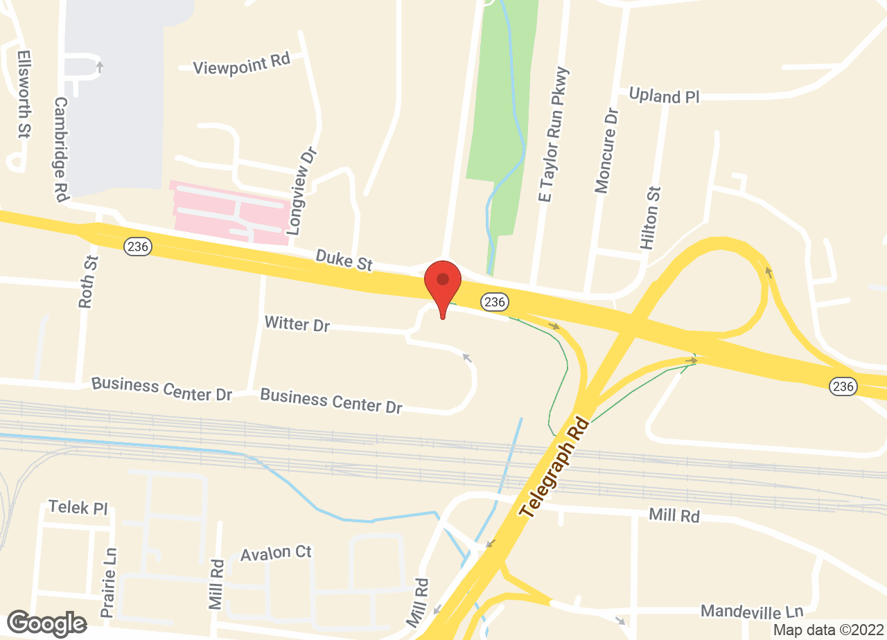 Google Map of VCA Alexandria Animal Hospital