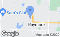 Map of Raymore, MO