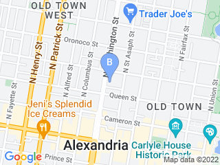 Map of Barkley Square Pets Dog Boarding options in Alexandria | Boarding