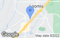 Map of Loomis, CA