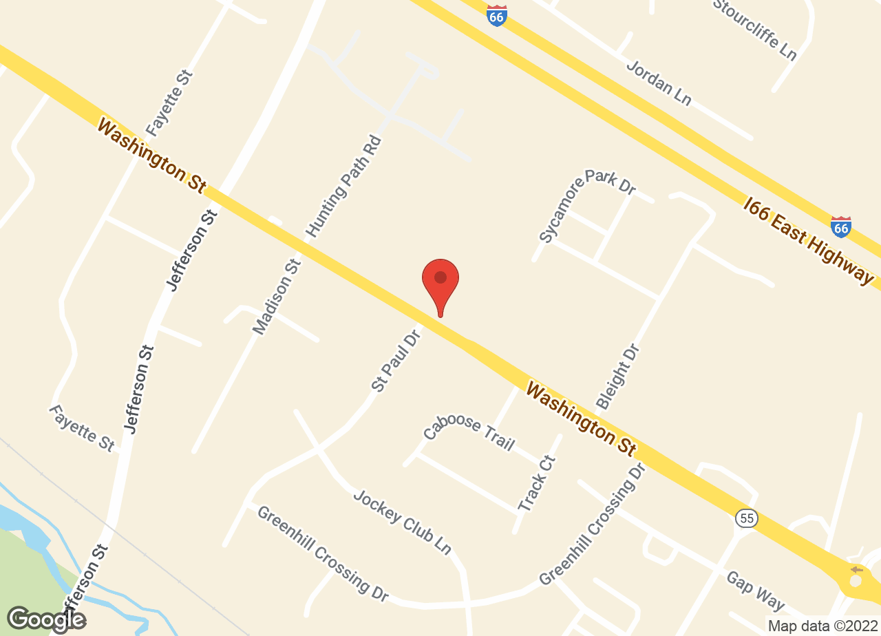 Google Map of VCA Healthy PAWS Medical Center