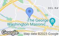 Map of Alexandria, VA