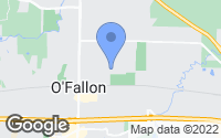 Map of O'Fallon, MO