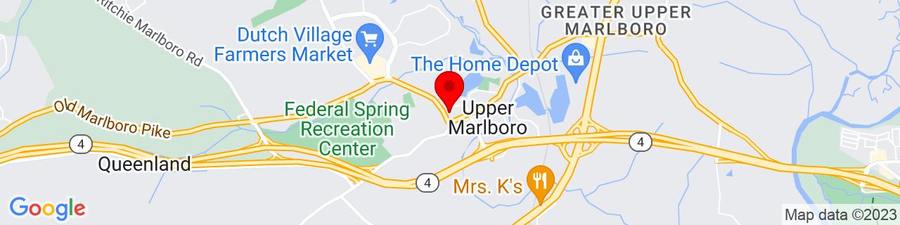 Google Map of 38.816396, -76.75434400000002