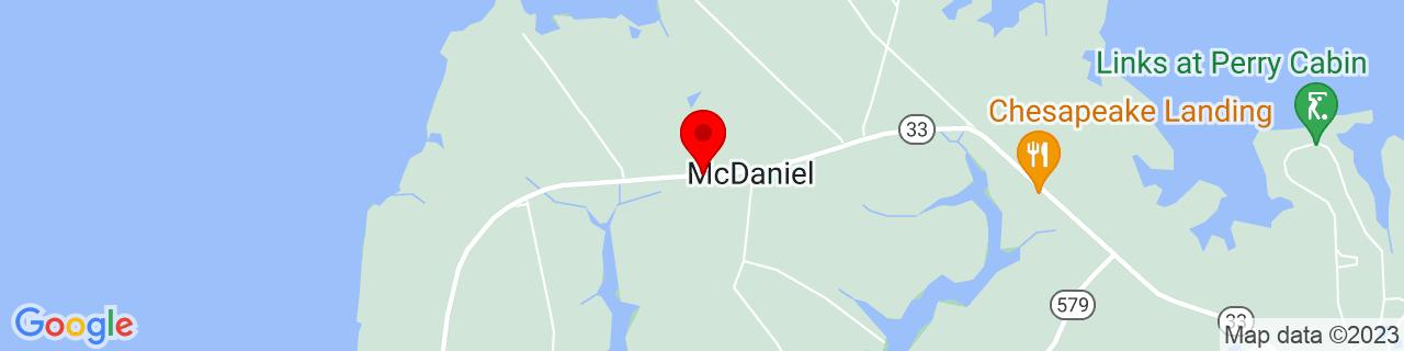 Google Map of 38.8173954, -76.2818039