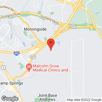 Map of Arby's at Building 1811 G Street, Jb Andrews, MD 20762