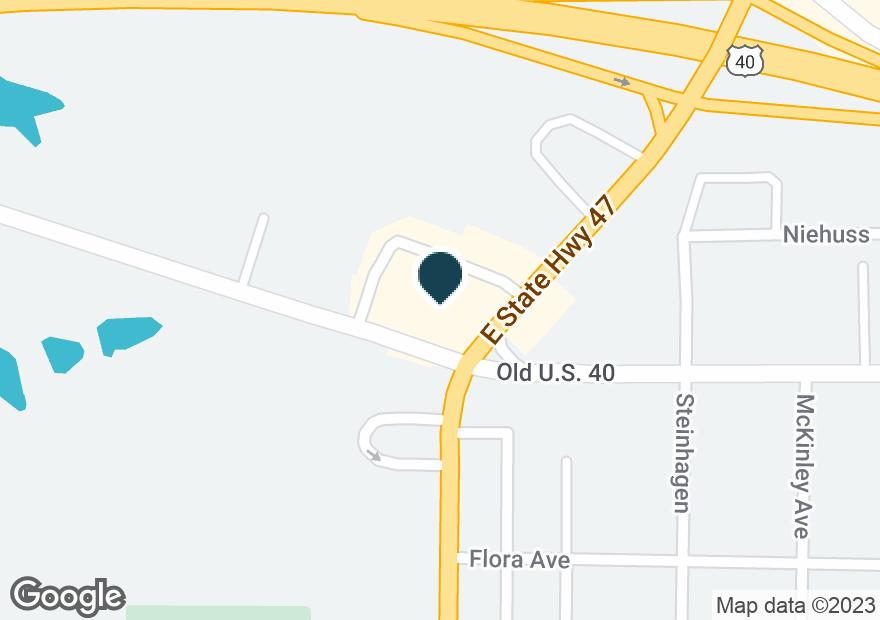 Google Map of701 N STATE HIGHWAY 47
