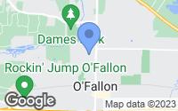 Map of Ofallon, MO