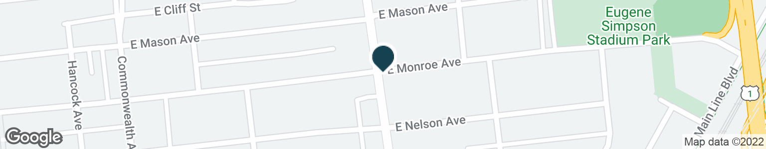 Google Map of1517 MOUNT VERNON AVE