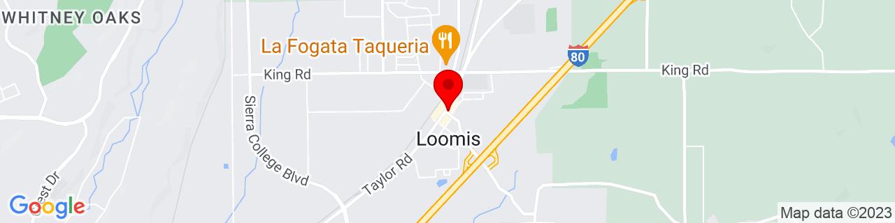 Google Map of 38.82138888888889, -121.19305555555556
