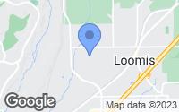 Map of Loomis, CA