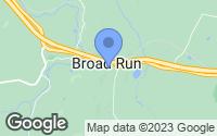 Map of Broad Run, VA