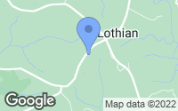 Map of Lothian, MD