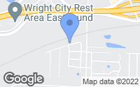 Map of Wright City, MO