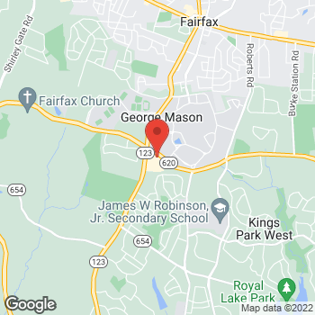 Map of Verizon Authorized Retailer – TCC at 10695 Braddock Road, Fairfax, VA 22032