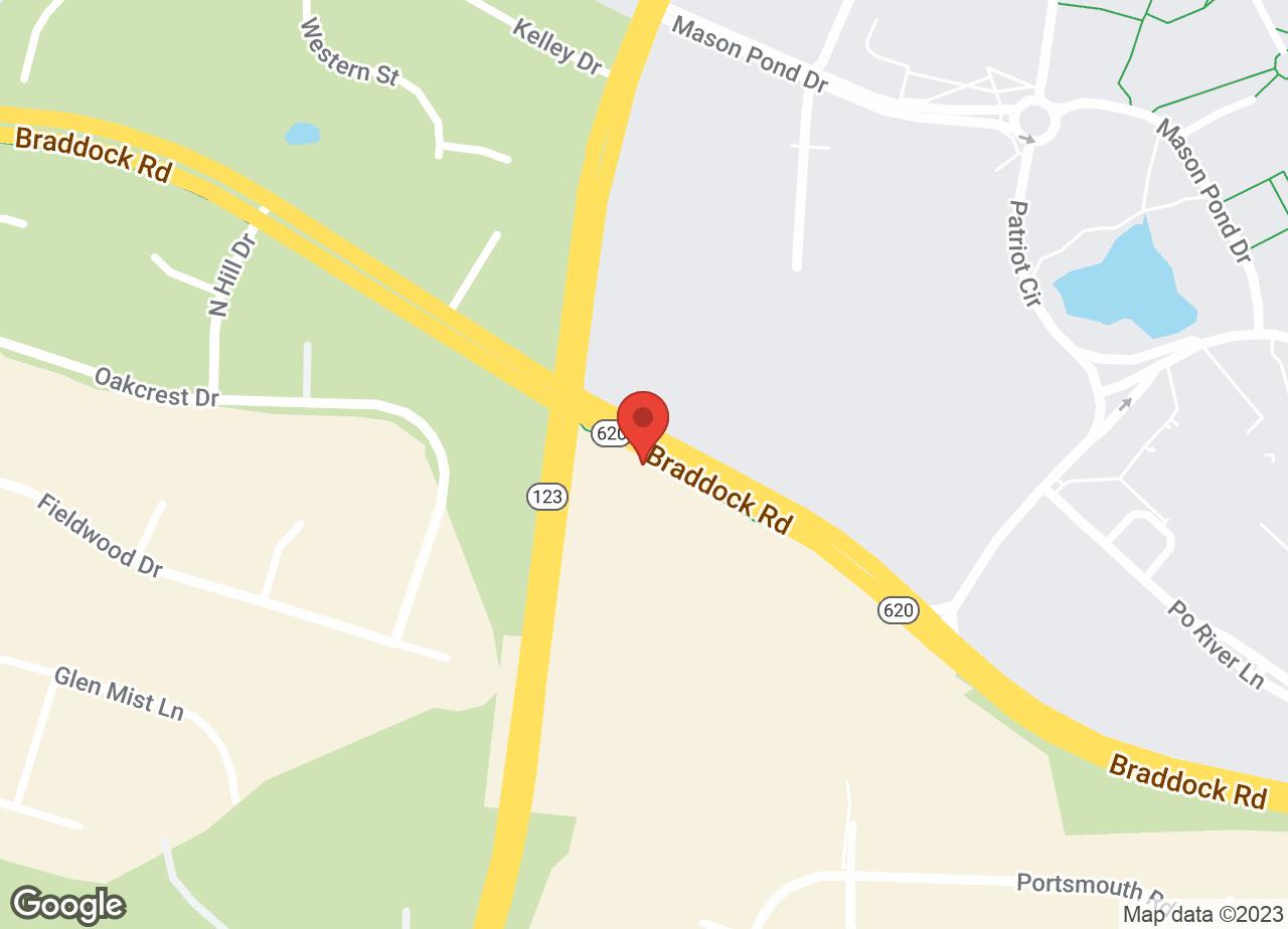Google Map of VCA University Veterinary Clinic