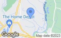 Map of Upper Marlboro, MD