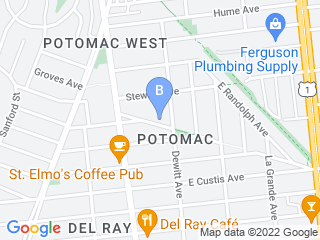 Map of Privileged Pets LLC Dog Boarding options in Alexandria | Boarding