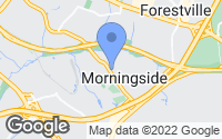 Map of Morningside, MD