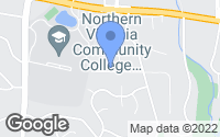 Map of Annandale, VA