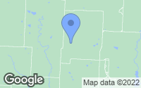 Map of Kingsville, MO