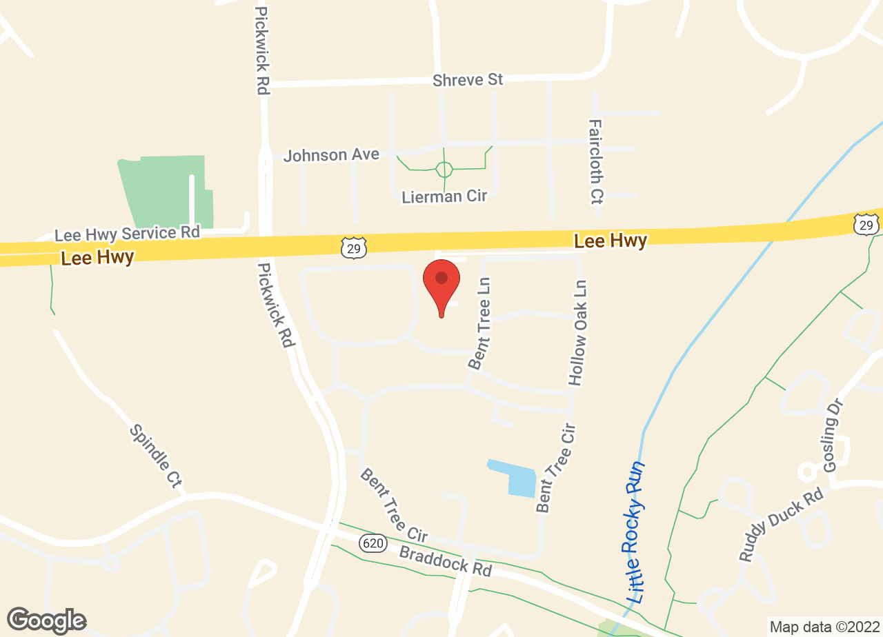 Google Map of VCA Centreville Animal Hospital