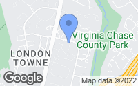 Map of Centreville, VA