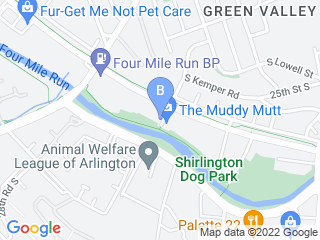 Map of Wag More Dogs Dog Boarding options in Arlington | Boarding