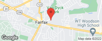 Map of 3921 Old Lee Hwy in Fairfax