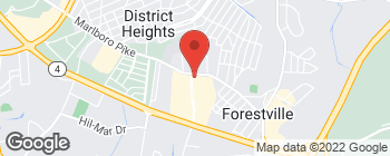Map of 2950 Donnell Dr in Forestville