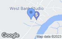 Map of Denton, MD