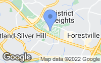 Map of District Heights, MD