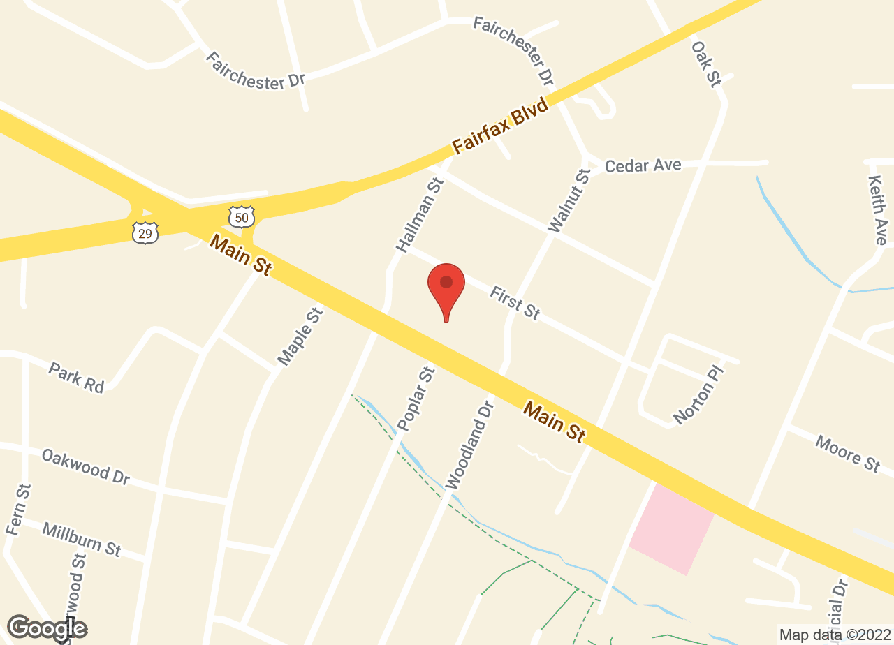 Google Map of VCA Commonwealth Animal Hospital