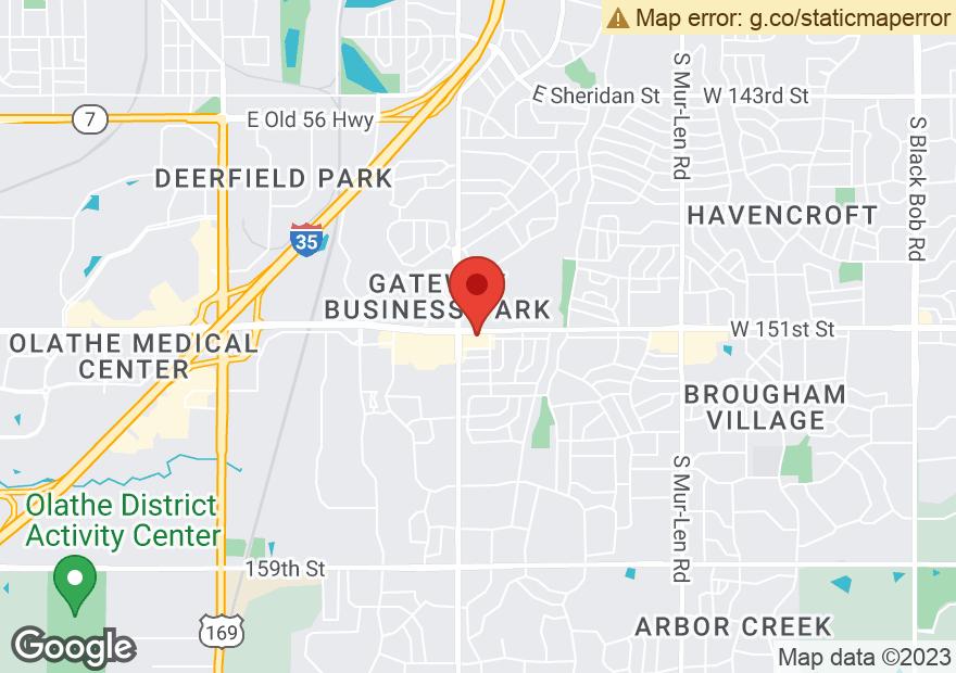 Google Map of 1453 E 151ST ST