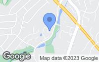 Map of Centreville, VA