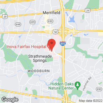 Map of Panera Bread at 3300 Gallows Road, Falls Church, VA 22042