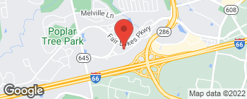Mapa de 13044 Fair Lakes Shopping Ctr en Fairfax