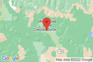 Map of Crested Butte Resort Area