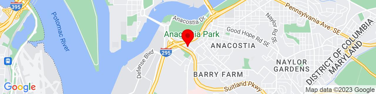 Google Map of 38.862438, -76.995862