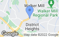 Map of Capitol Heights, MD