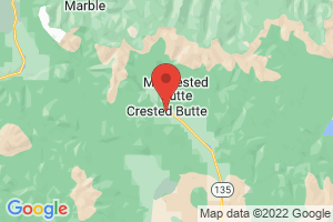 Map of Crested Butte
