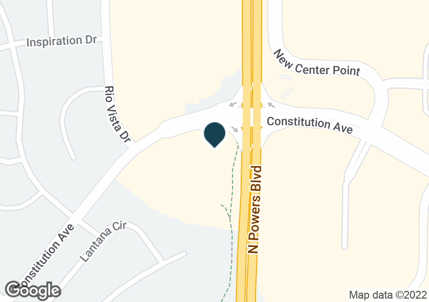 Google Map of5755 CONSTITUTION AVE