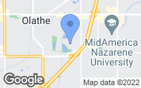Map of Olathe, KS