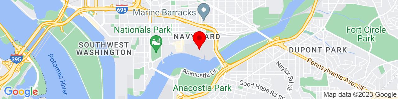 Google Map of 38.8736103, -76.995572
